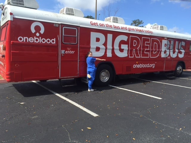 OneBlood Visited the Tallahassee Campus