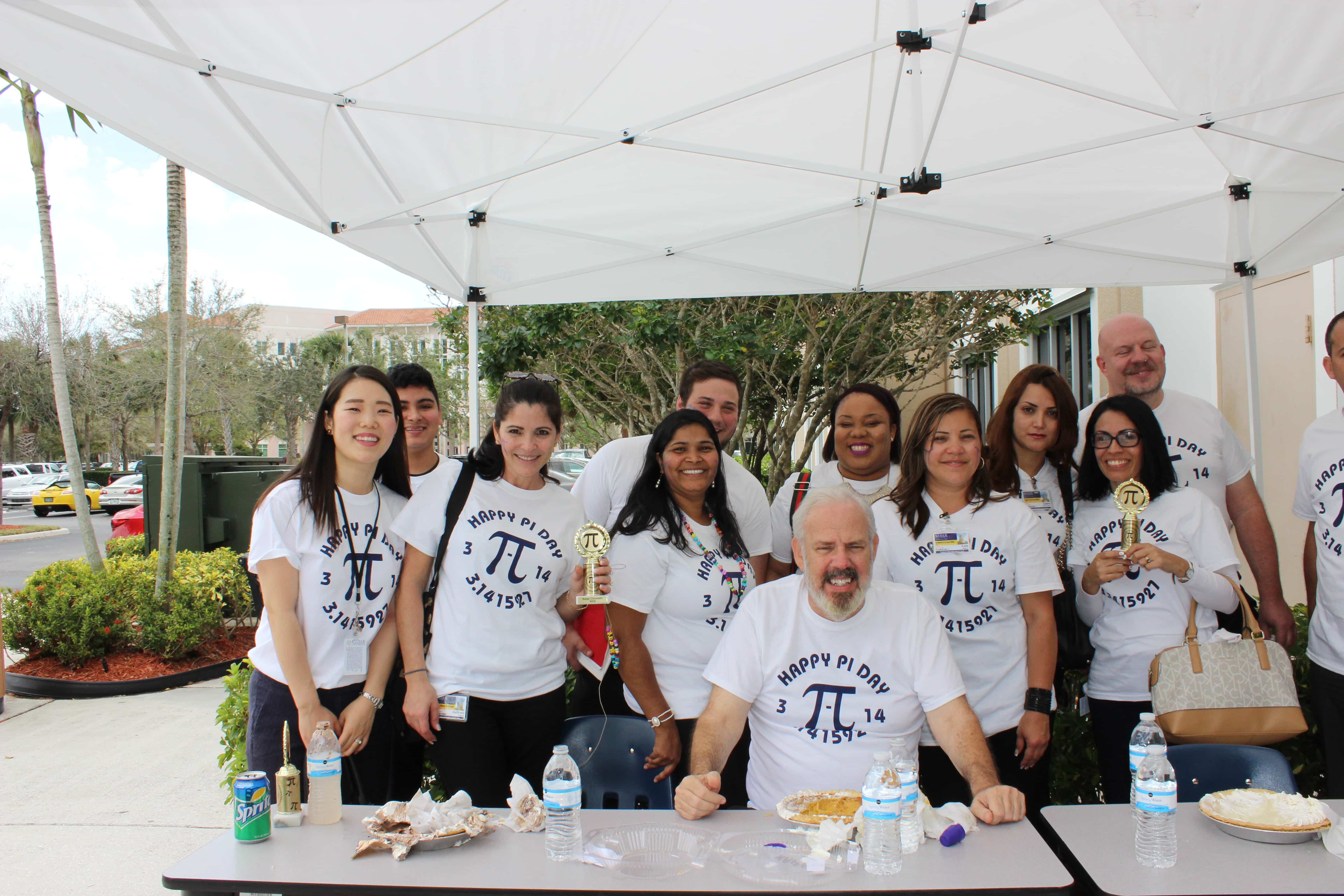 Pi Day at the West Palm Beach Campus
