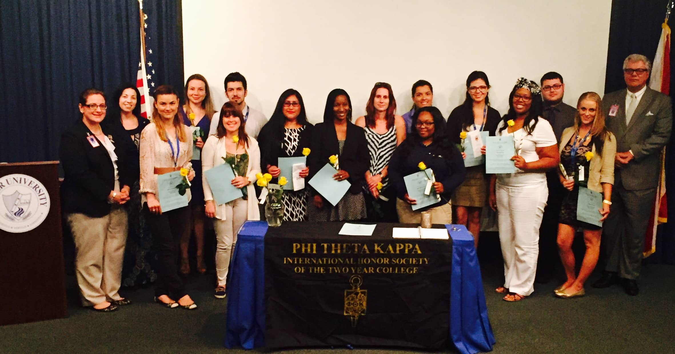 Ft. Lauderdale Holds a PTK Induction Ceremony