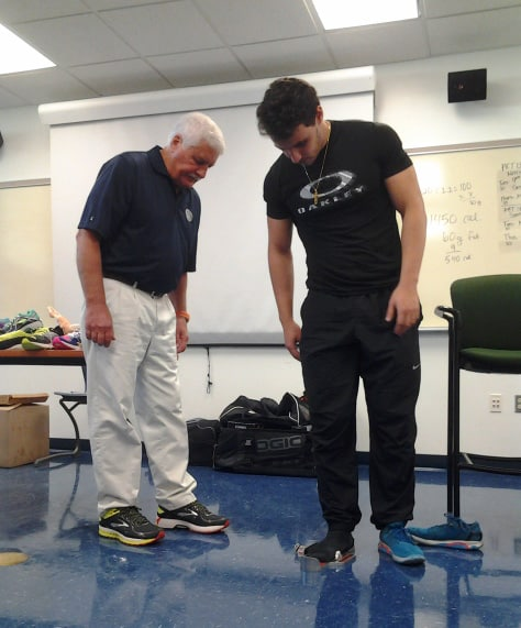 Sports Medicine & Fitness Technology Students Gain Insight Relating to Biomechanics, Healthy Footwear Options