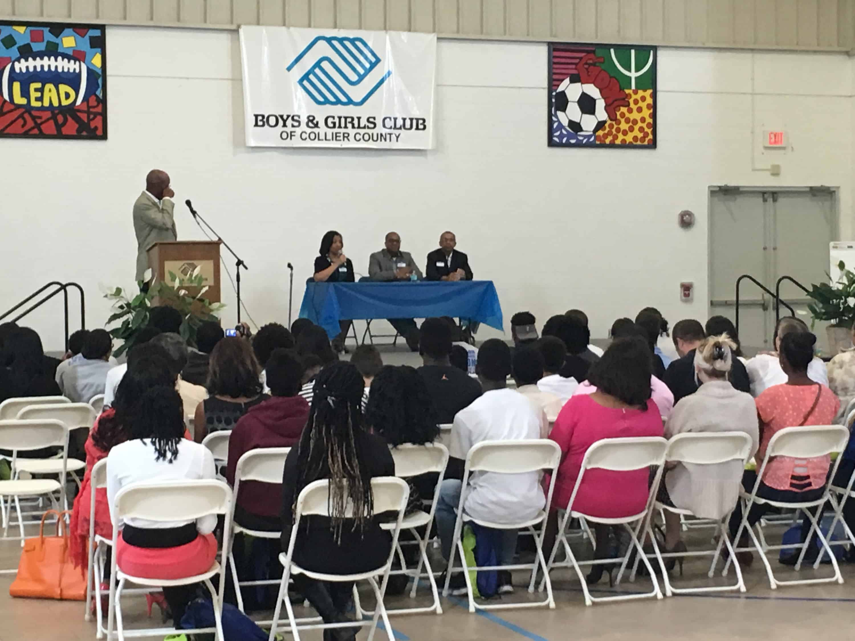 "Fort Myers Faculty & Staff Attend, ""Career Conversations"" With The Boys And Girls Club Of Collier County"