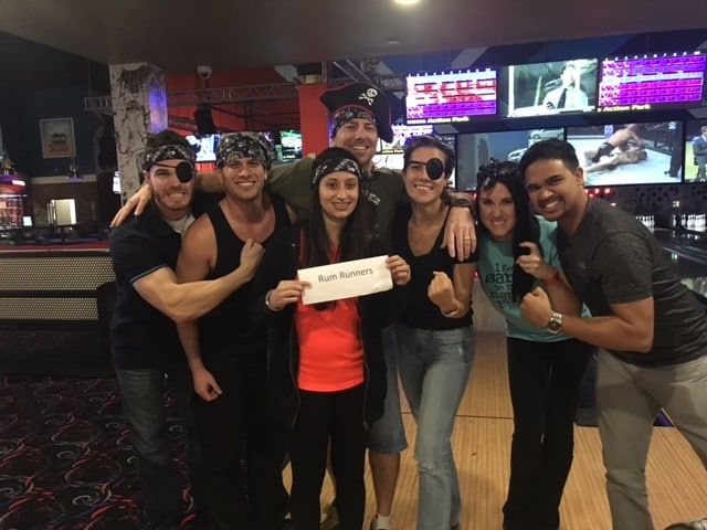 Ft. Lauderdale's Physician Assistant Student Association Bowled for Charity