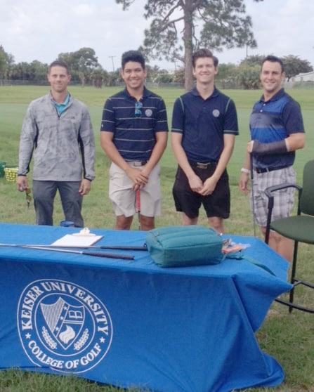 COGSM Students and Staff Take the Short Game Challenge for Cystic Fibrosis