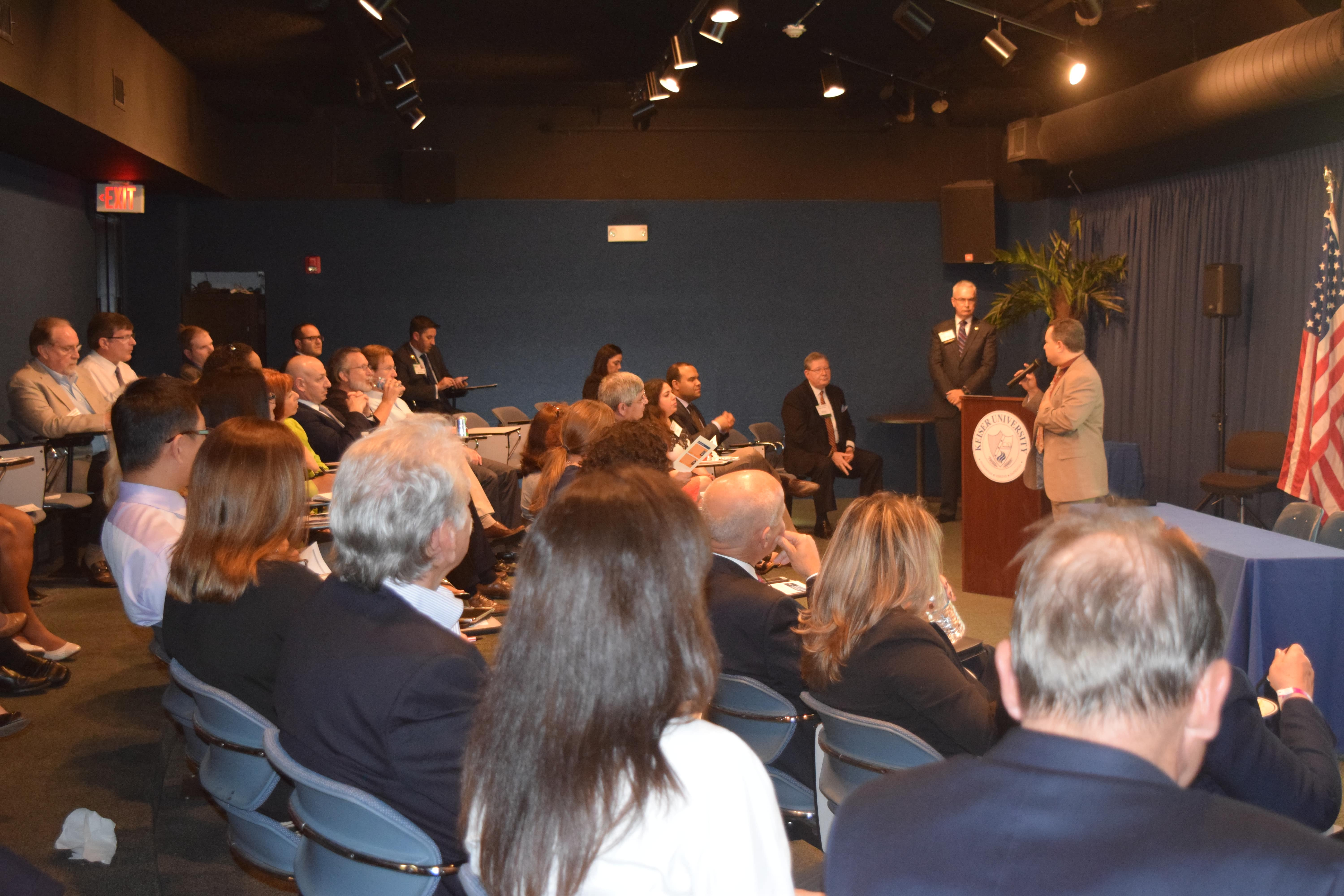 The Ft. Lauderdale Campus Hosted the South Florida Hospital & Healthcare Association