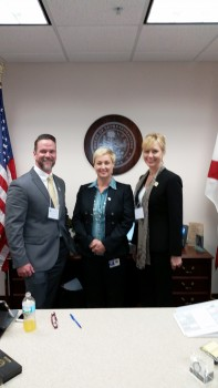Fellows and Rep. Elizabeth Porter, Chair of Higher Ed