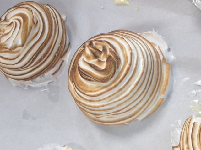 Samples from Sarasota's Pastries and Dessert Class