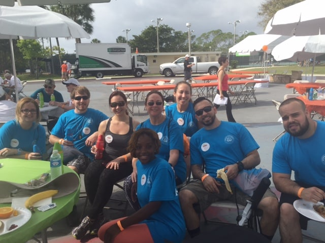 Students from the Ft. Lauderdale Campus Participated in a Walk for National Multiple Sclerosis Society