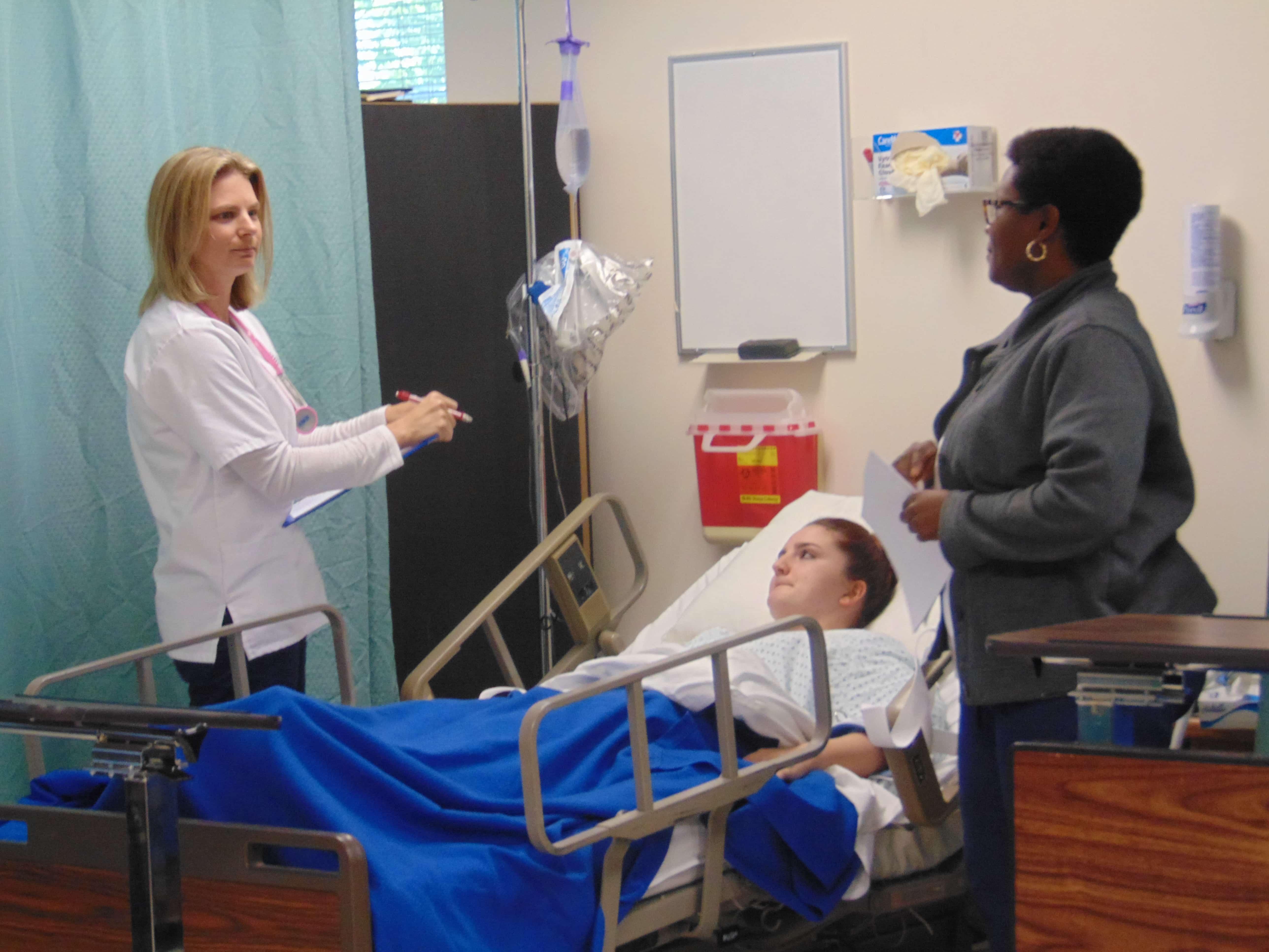 Sarasota Nursing Students Produce Skits on a Variety of Topics