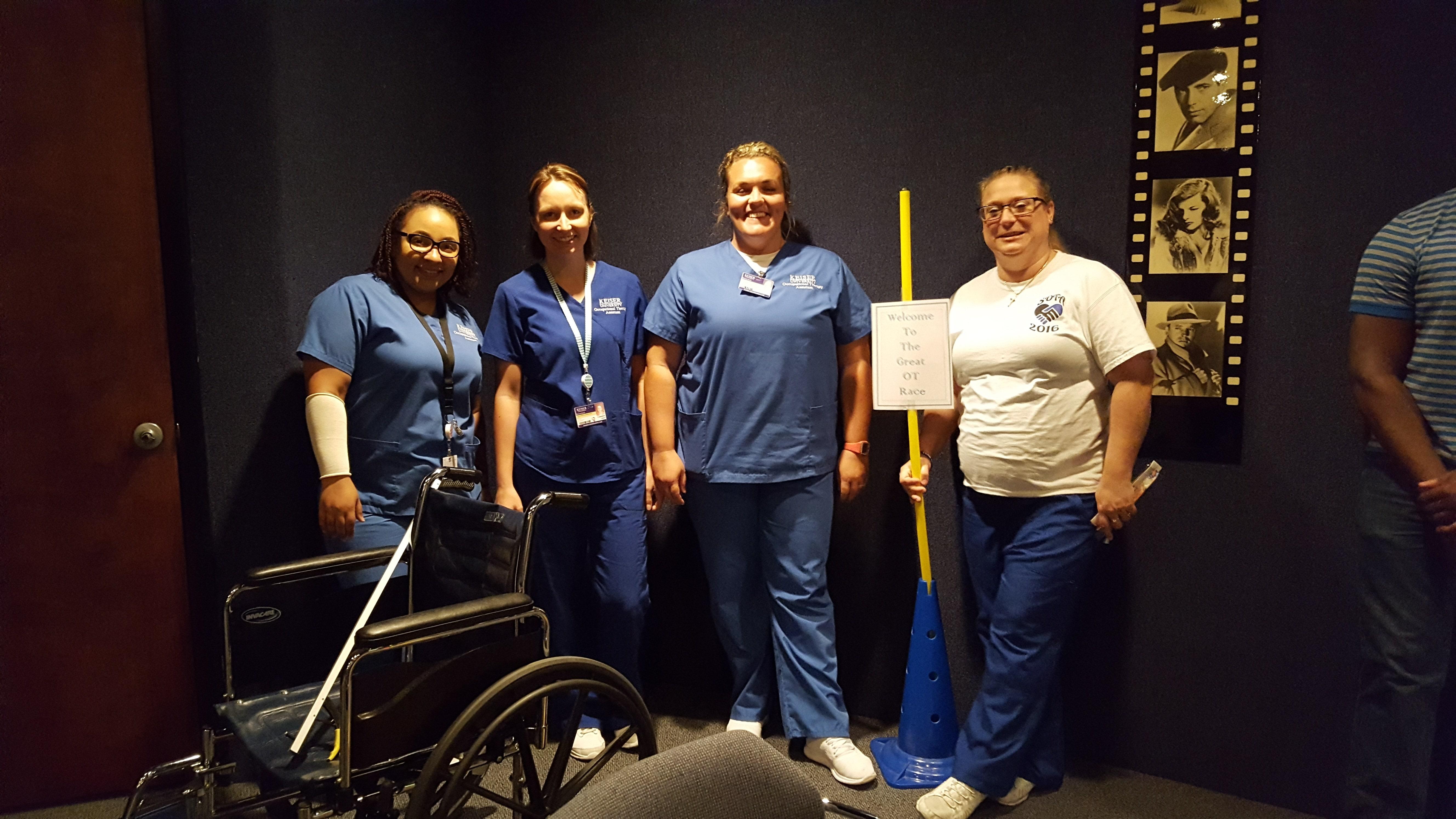 Daytona OTA Students Celebrate National Occupational Therapy Month