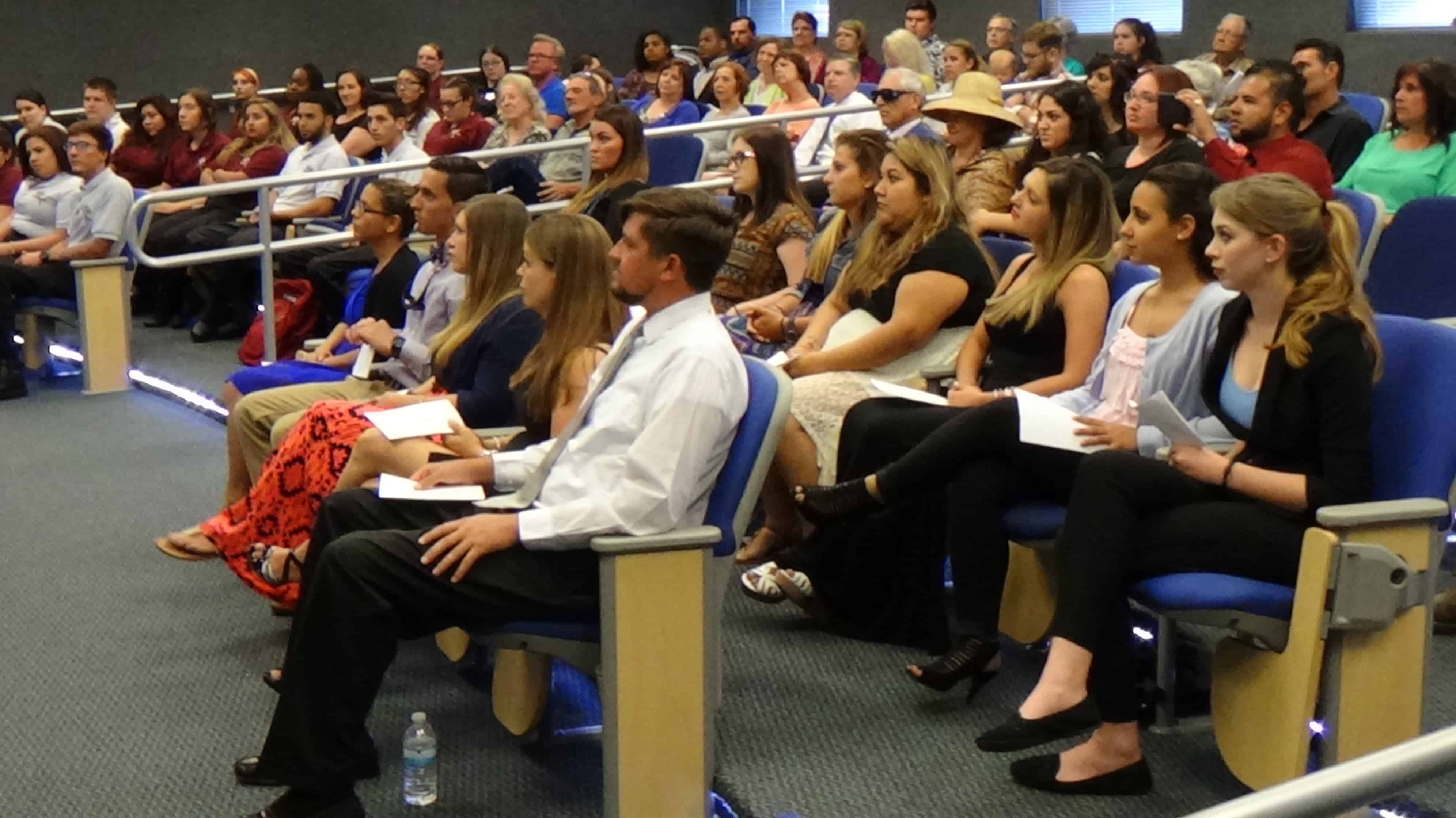PTK Induction Ceremony Held at the Fort Myers Campus