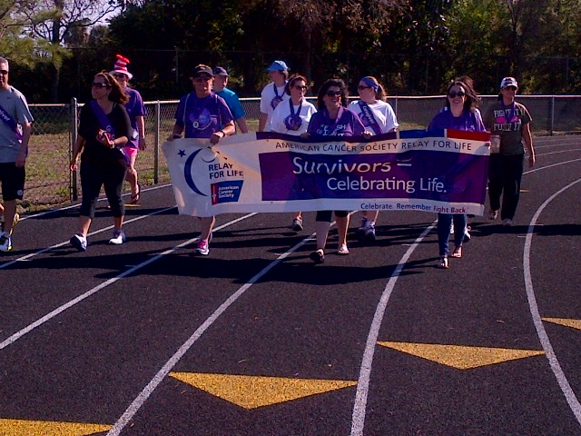 West Palm Beach HOSA Students Participate in Relay for Life