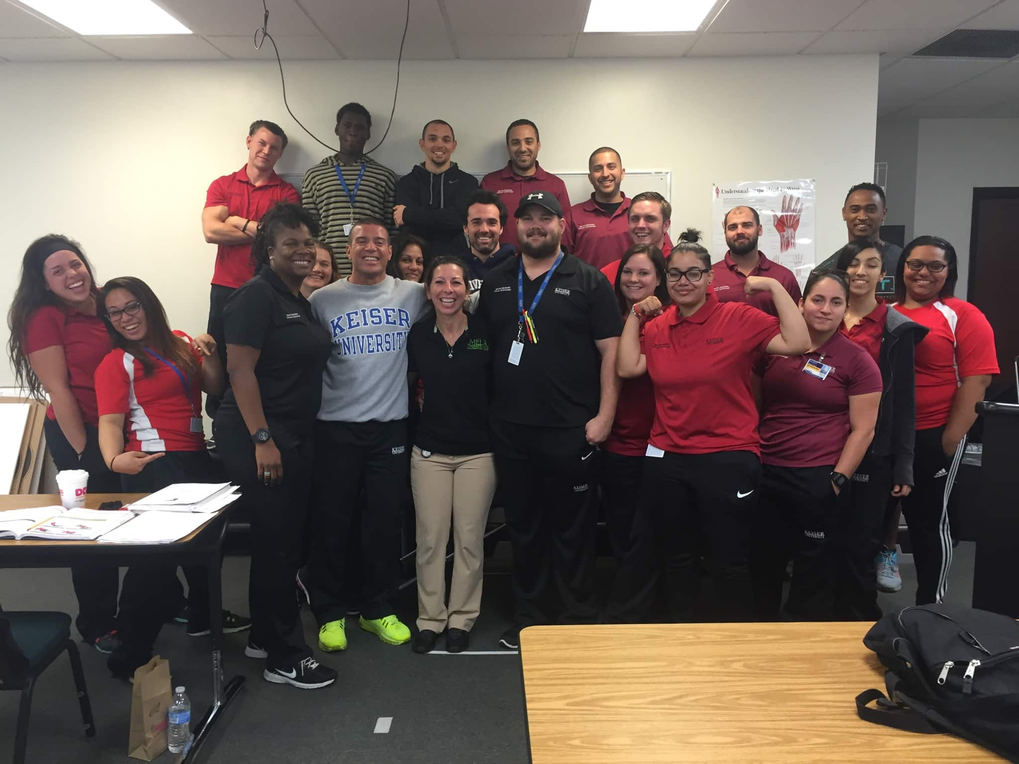 Orlando's Sports Medicine and Fitness Technology Students Learn from a Guest Speaker
