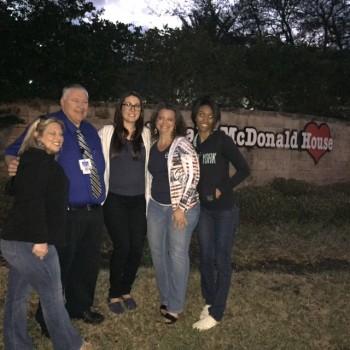 SNA at Ronald McDonald House  April 2016 (2)
