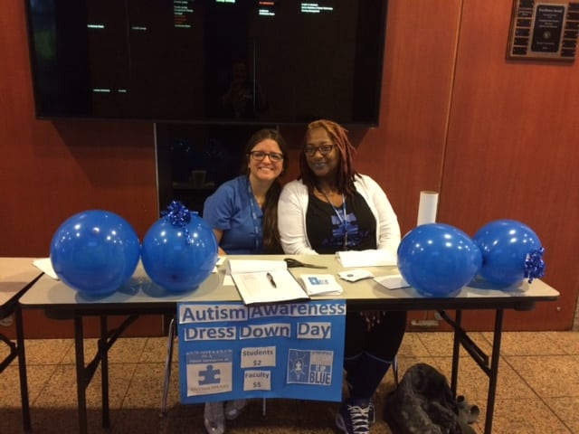 The Student Occupational Therapy Association at Ft. Lauderdale Raises Awareness for Autism