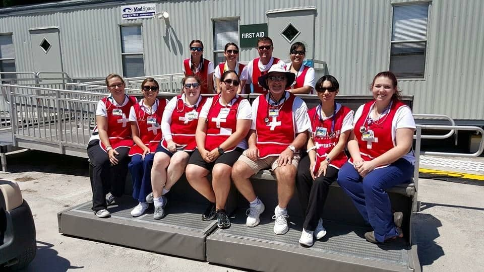 Keiser University Nursing Students, Alumni Served at TPC Golf Championship's First Aid Division