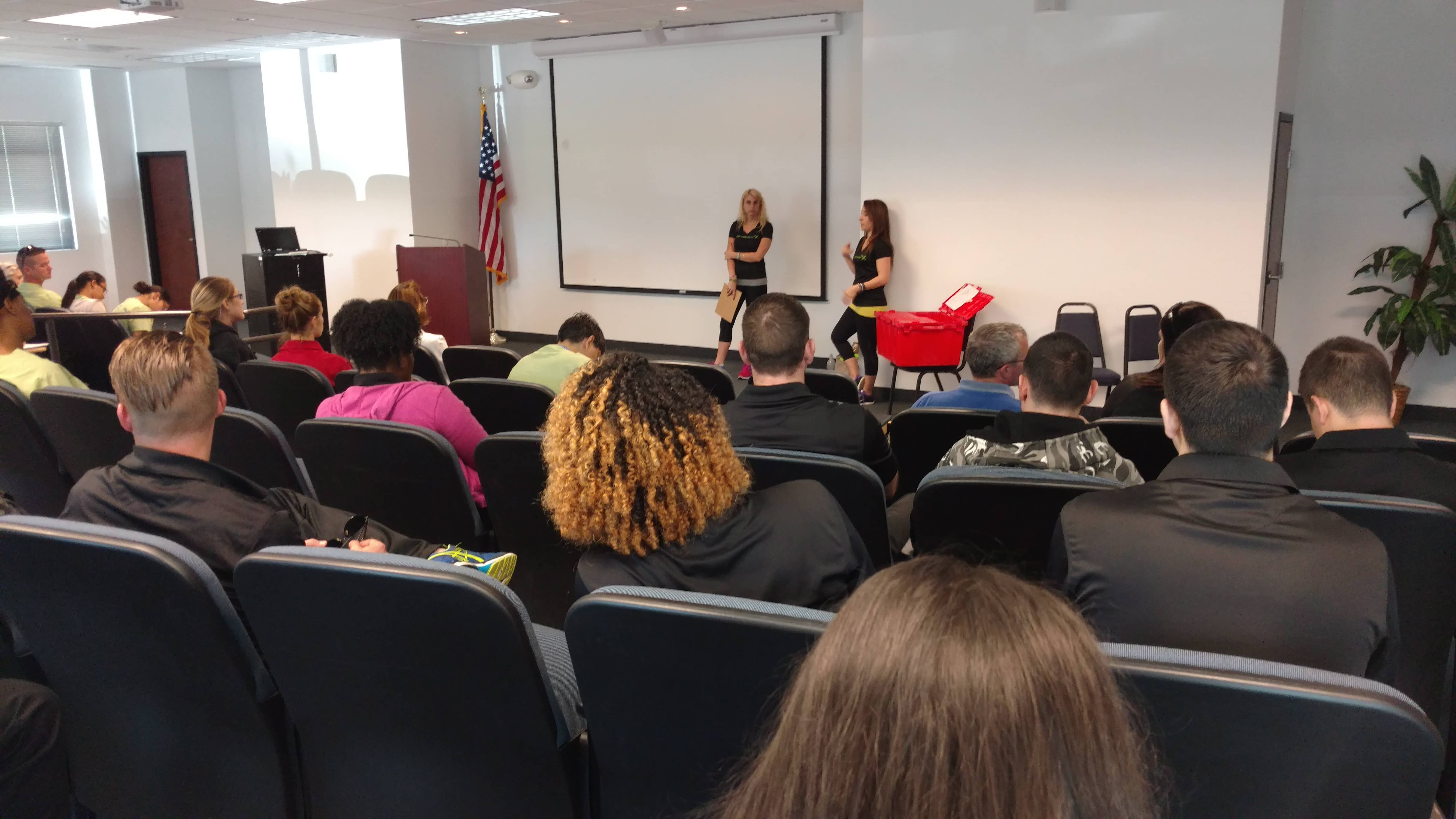 Fitlife Foods Visited the Lakeland Campus