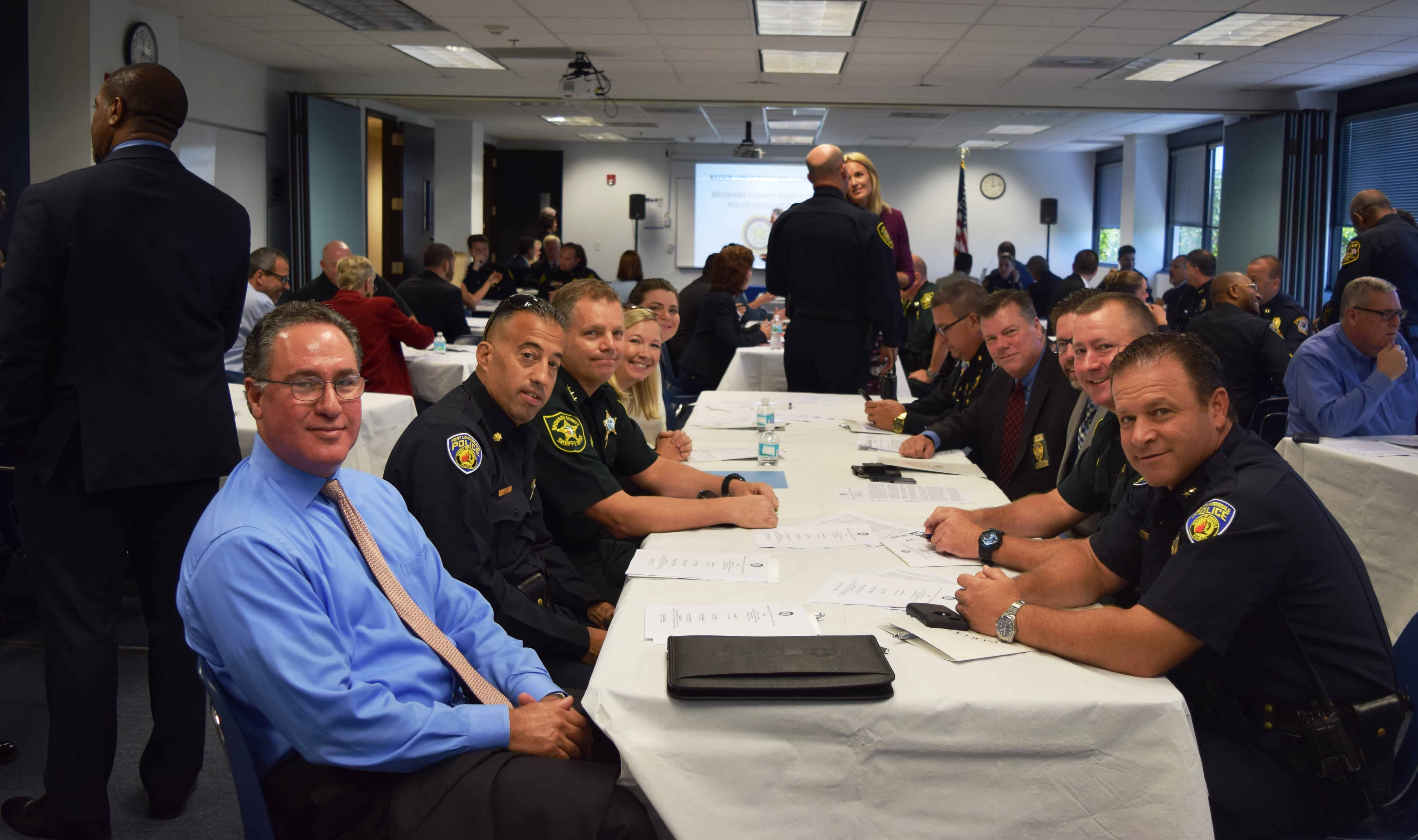 The Ft. Lauderdale Campus Hosts the Broward County Chiefs of Police Association