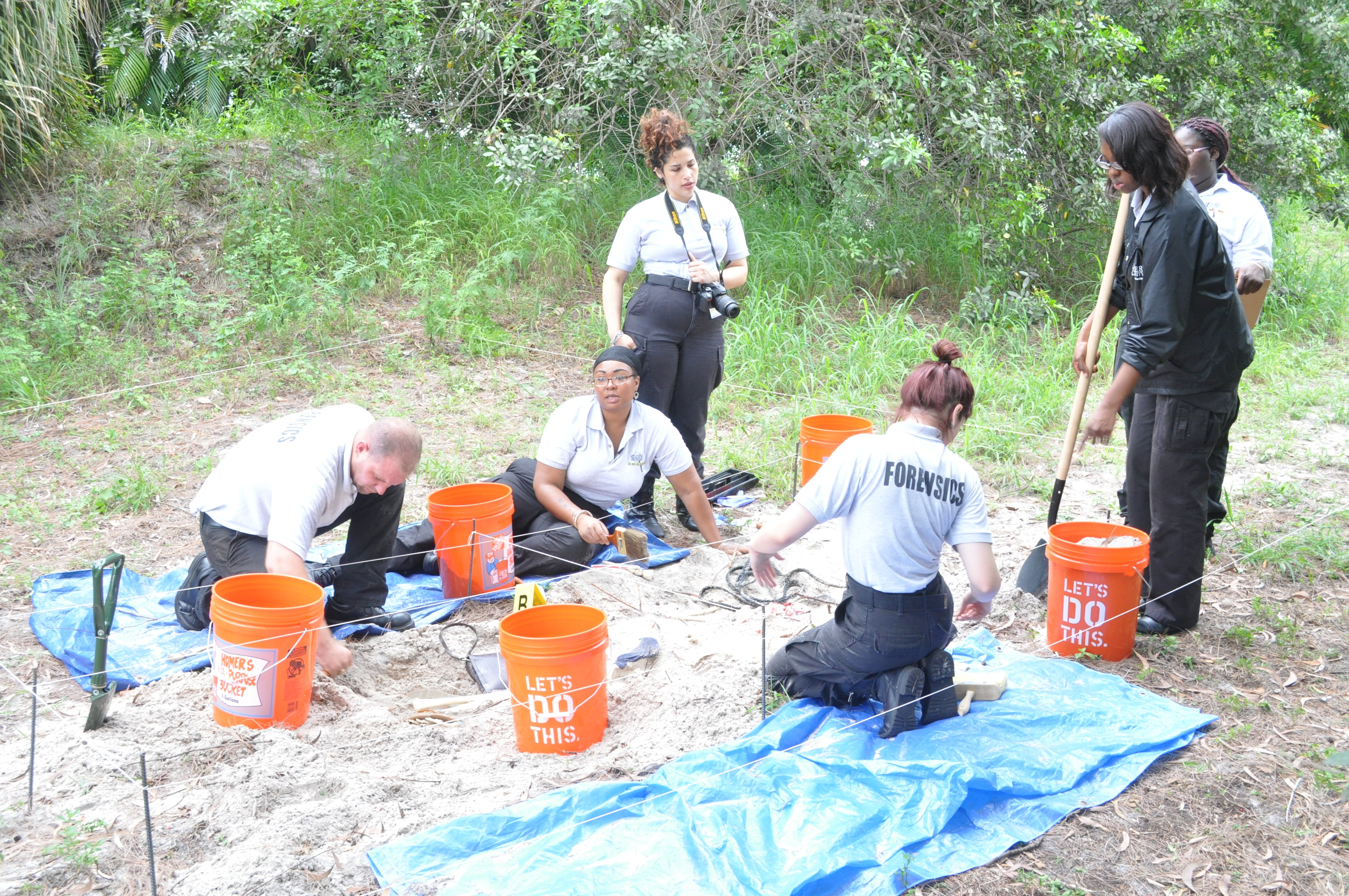 Uncovering Buried Evidence at the West Palm Beach Campus