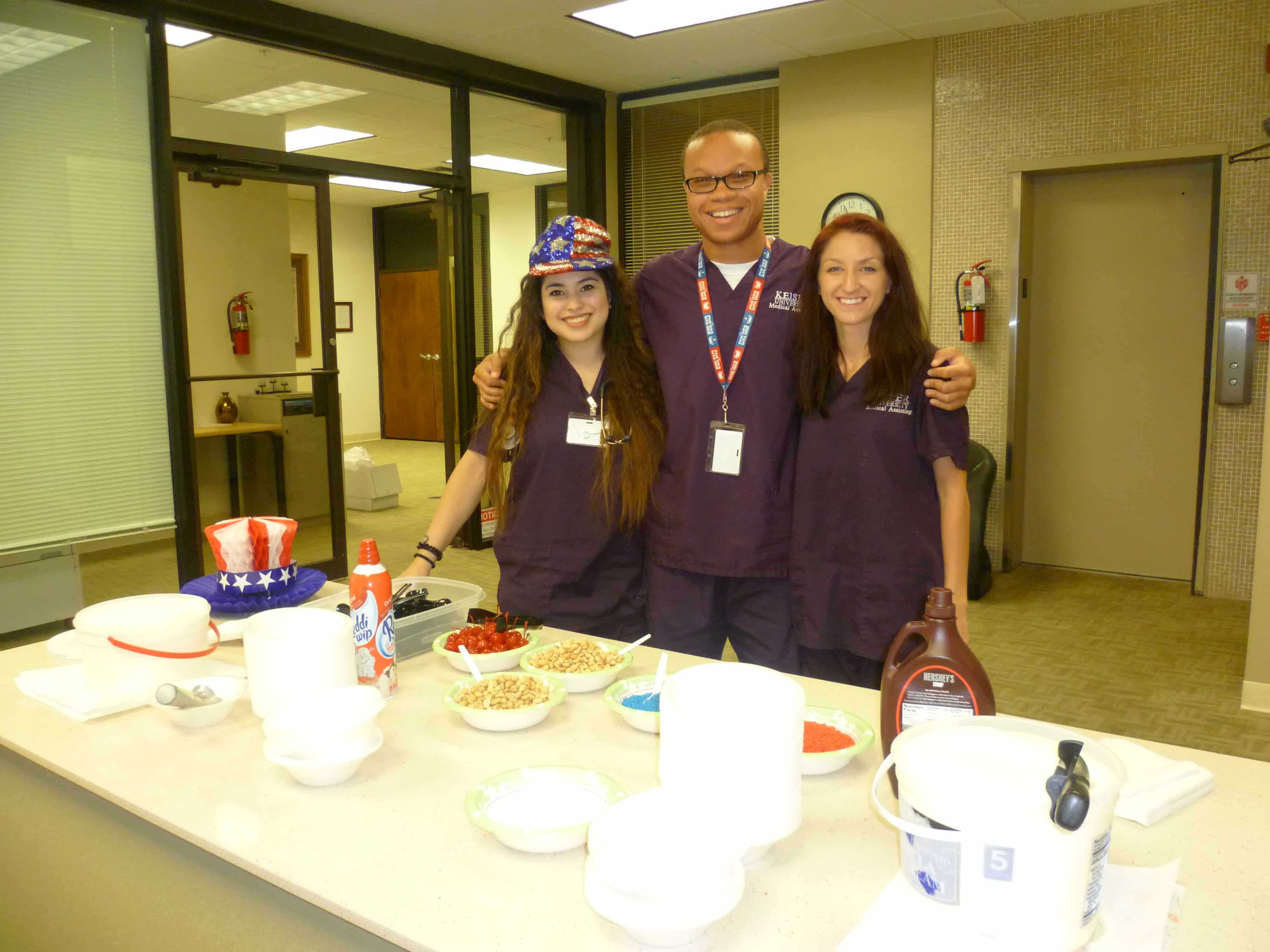 The New Port Richey & Clearwater Campuses Celebrates Flag Day with Ice Cream Socials