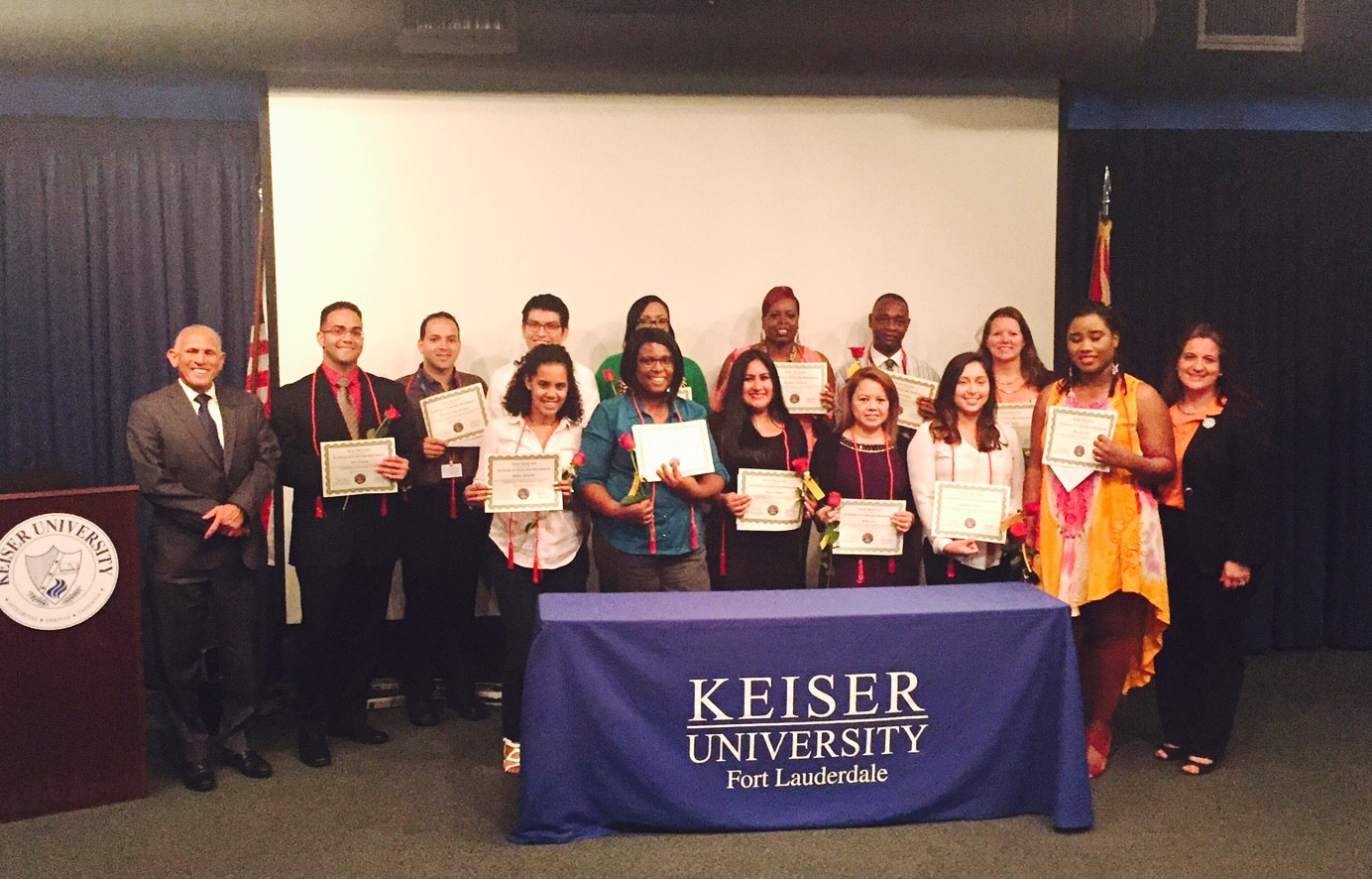Ft. Lauderdale Recognizes Students who Completed the Leadership Distinction Program