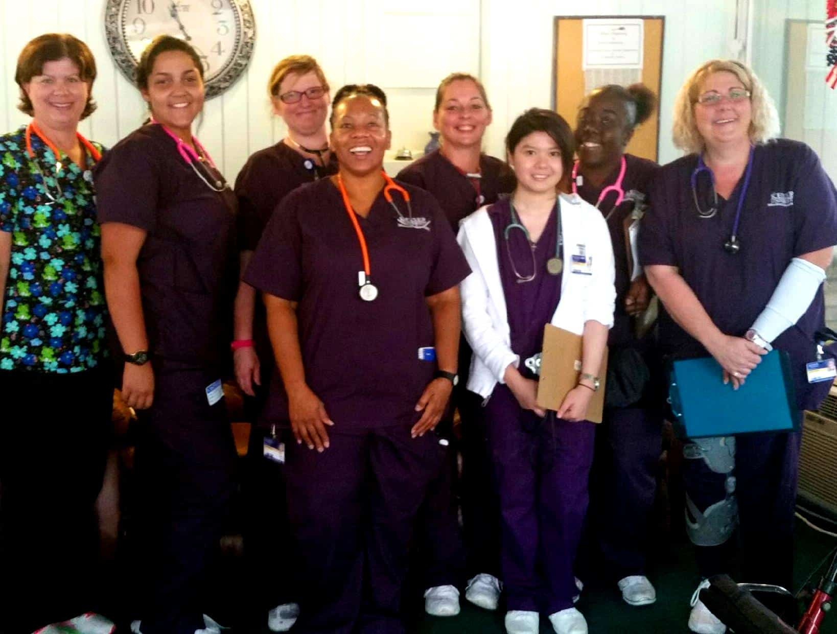Medical Assistant Students from Daytona Beach Help in Community