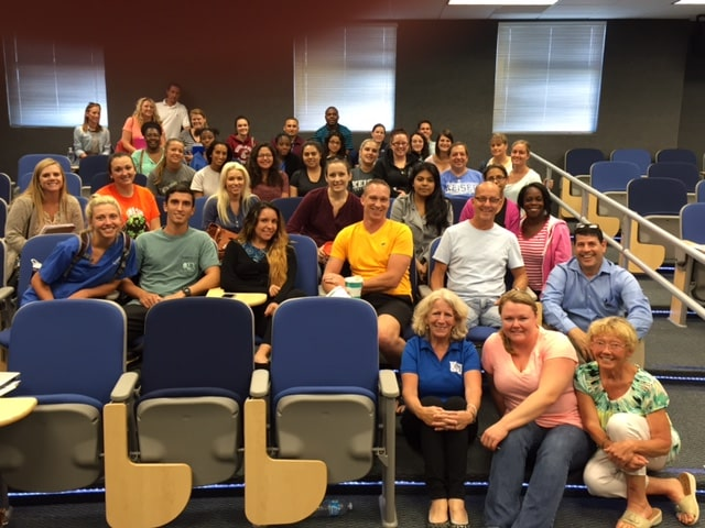 Occupational Therapy Assistant Students from Fort Myers Campus Come Together for Success Workshop
