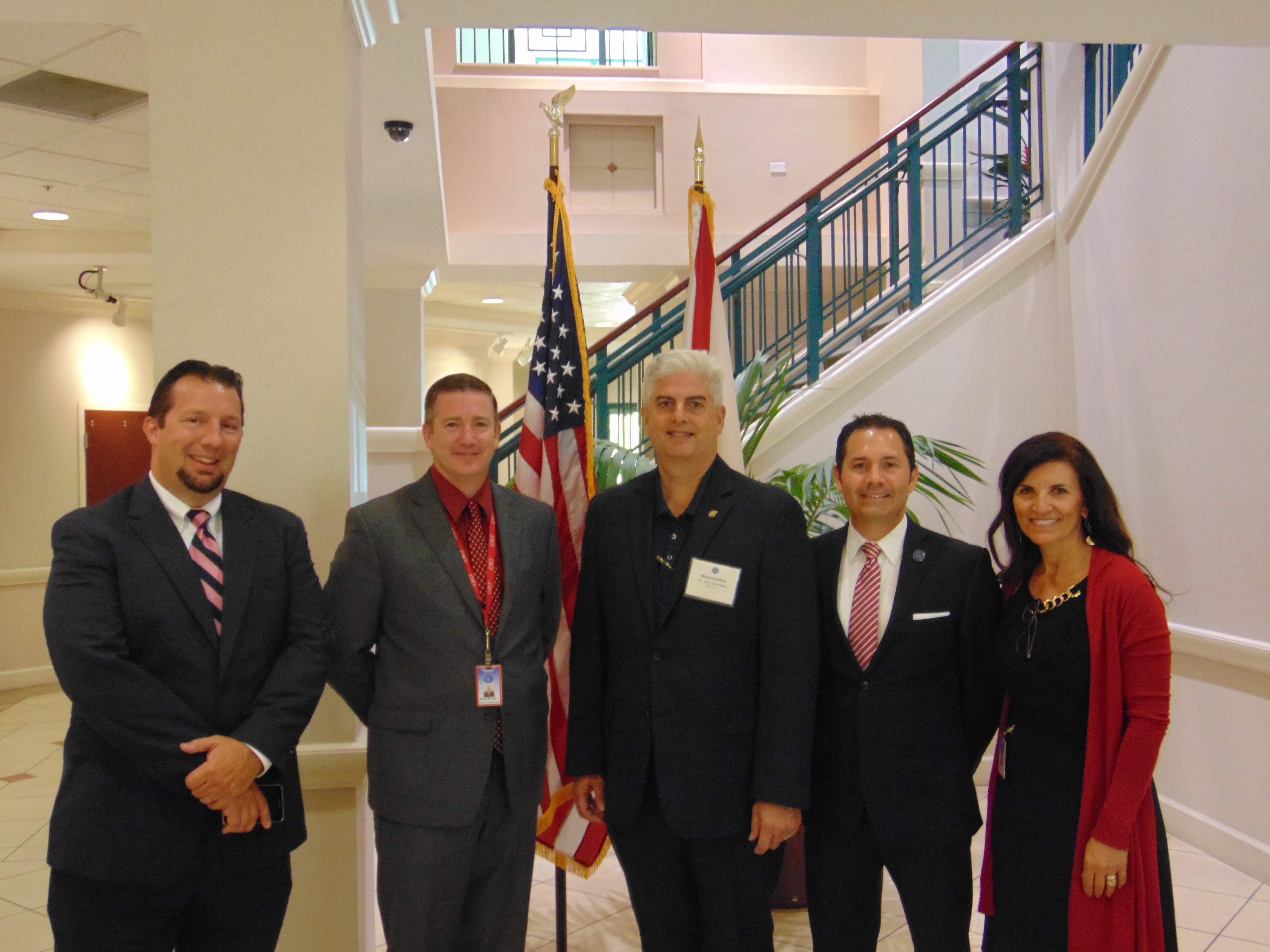 Representative Julio Gonzalez Visits the Sarasota Campus