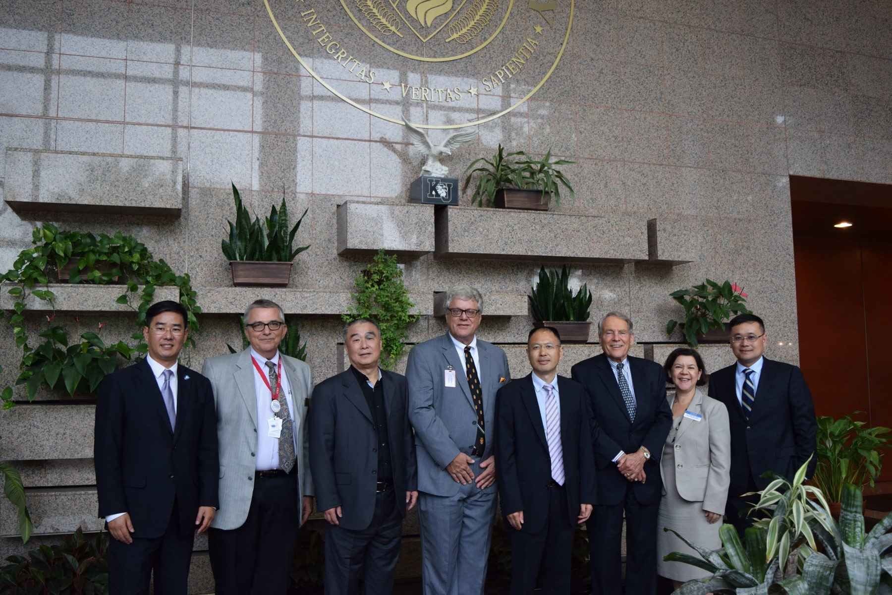 Delegation from China Visits the Ft. Lauderdale Campus