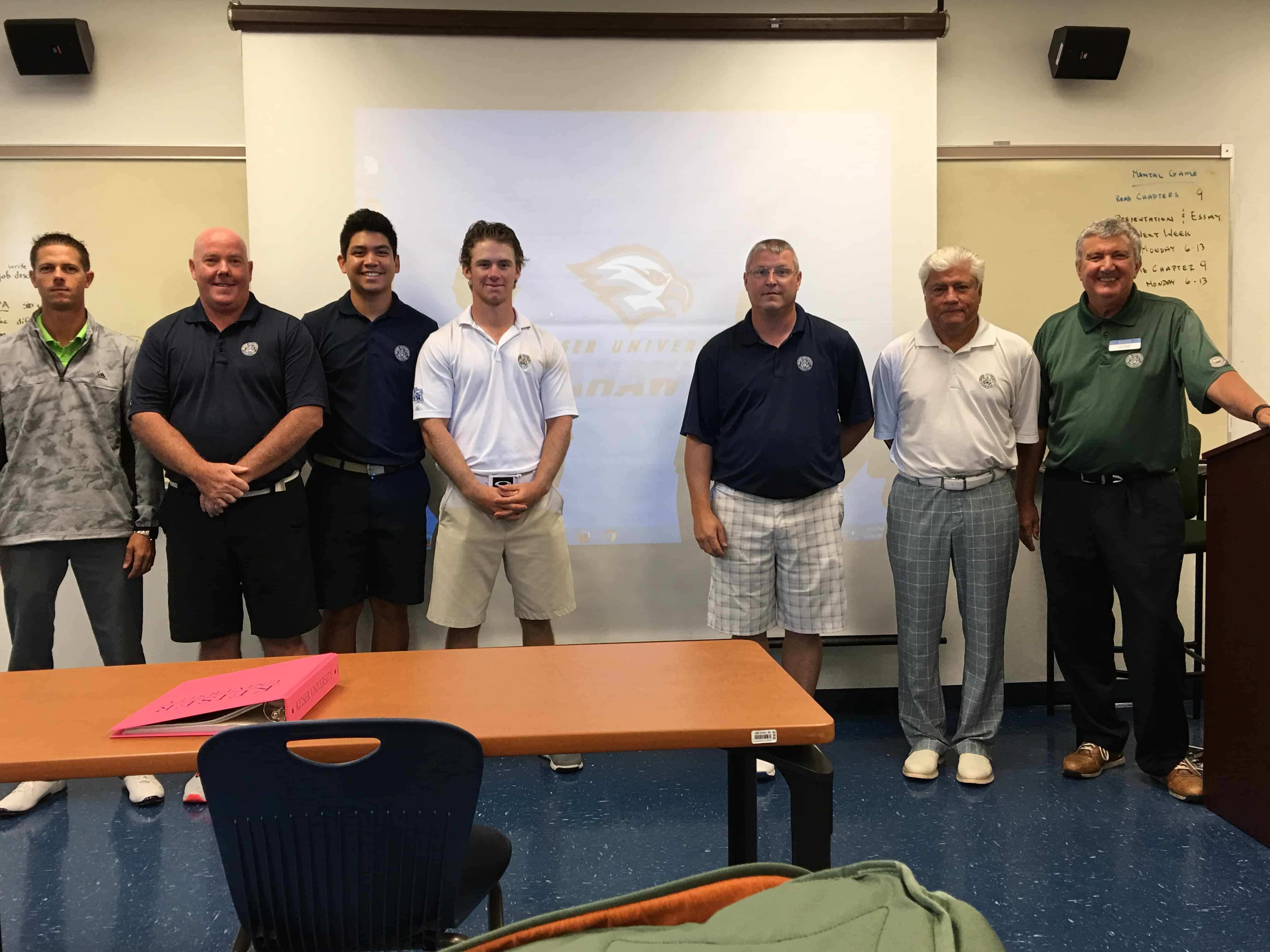 College of Golf Students Learn How the 'Other Side' Does It