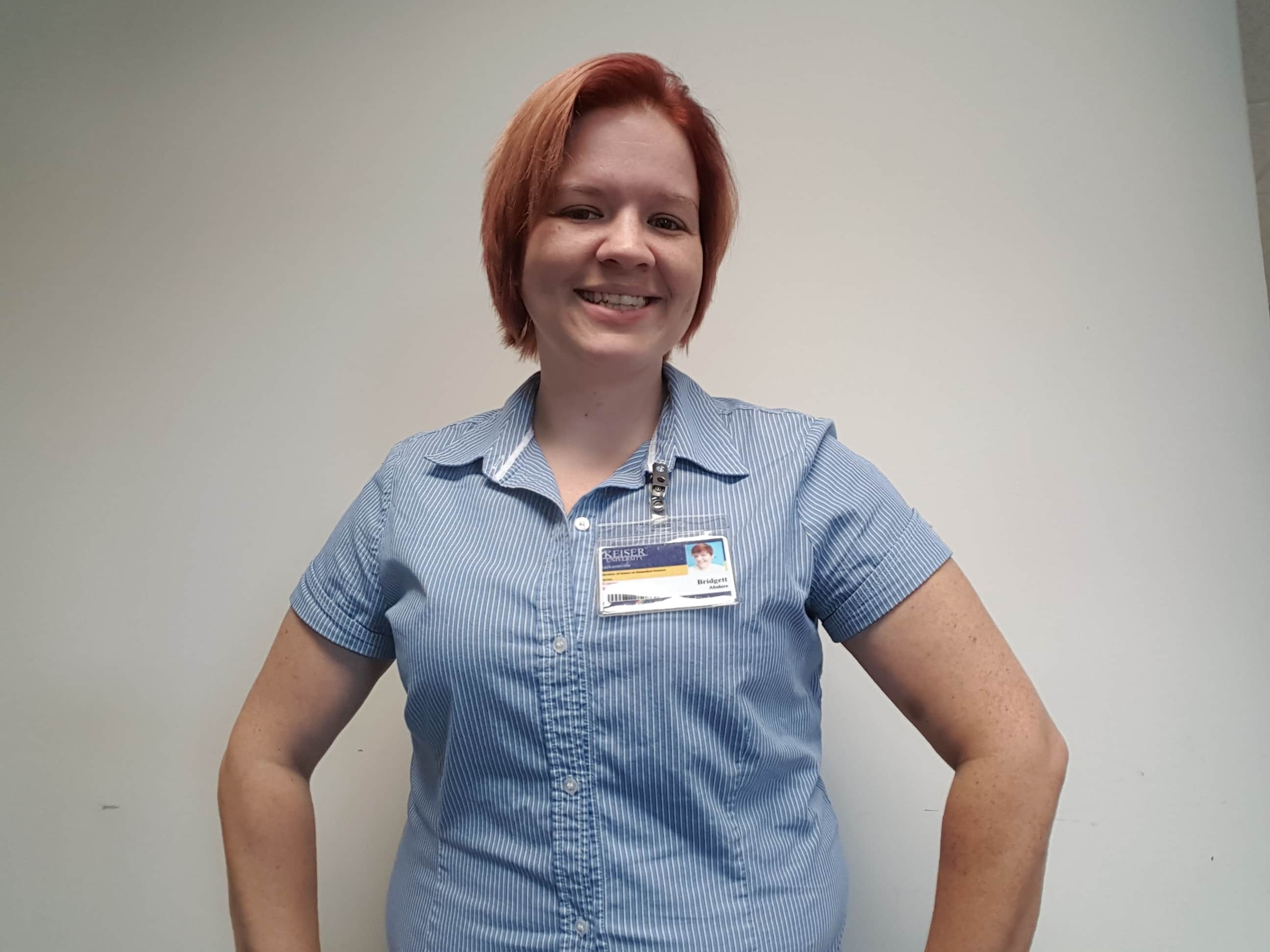 STUDENT SPOTLIGHT: Bridgett Abshire, KU Jacksonville, SGA President