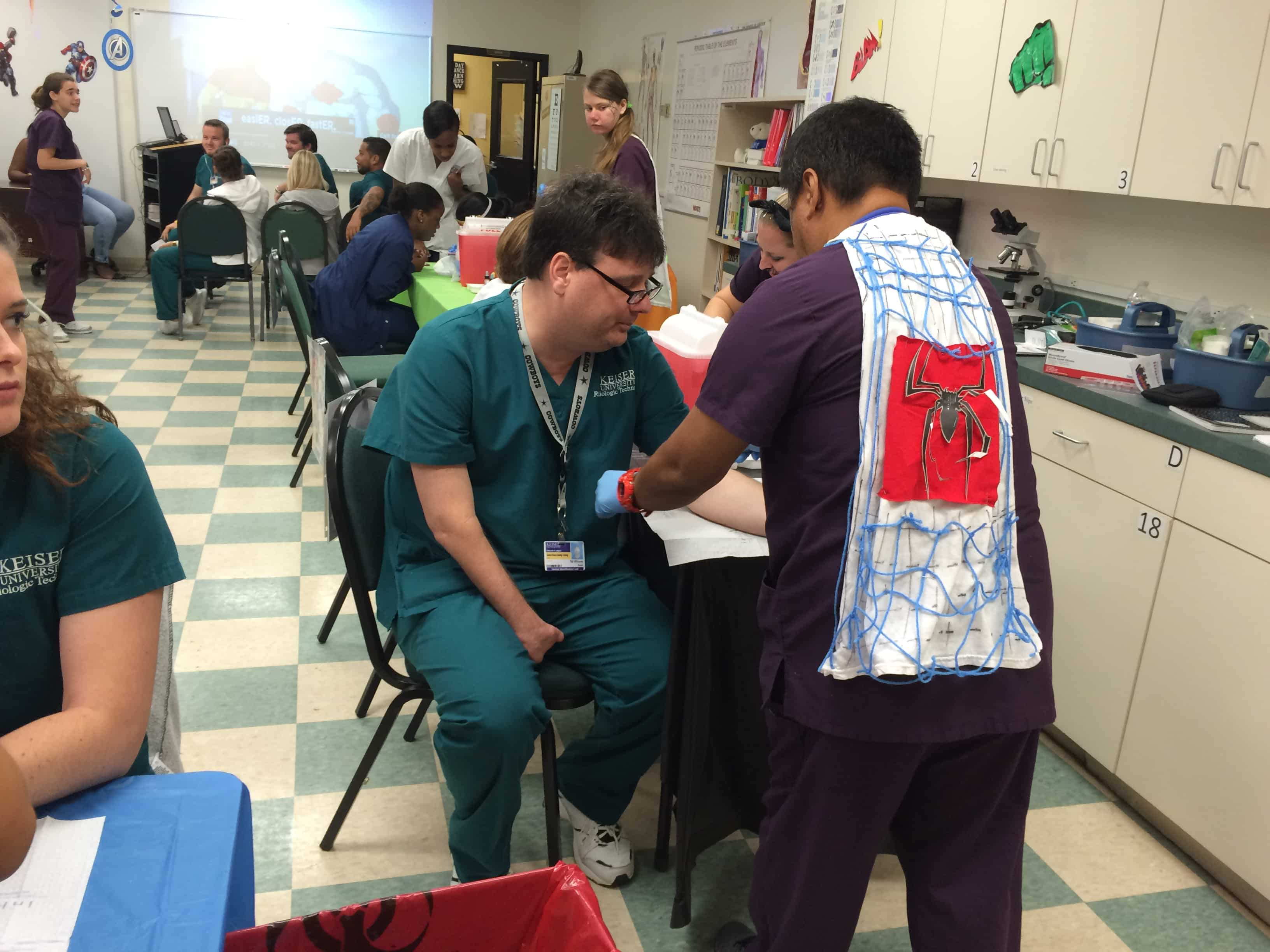 Medical Assistants in Orlando are Super Heroes