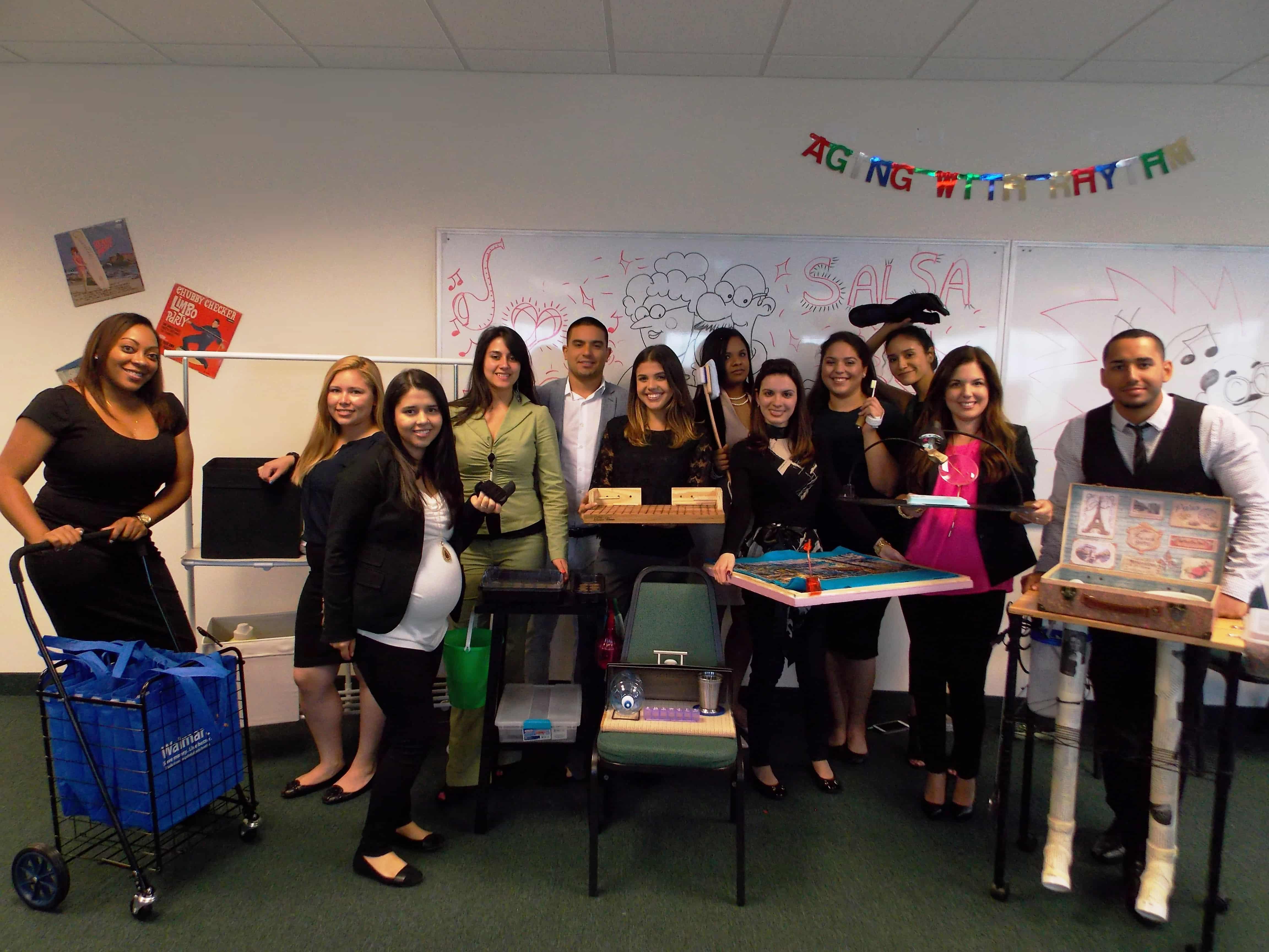 "OTA Students Create Presentations on ""Aging with Rhythm"""