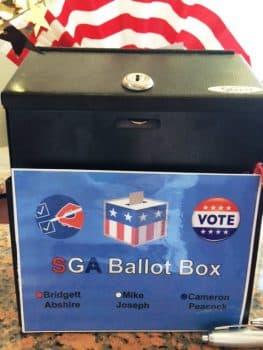 SGA election June 2016