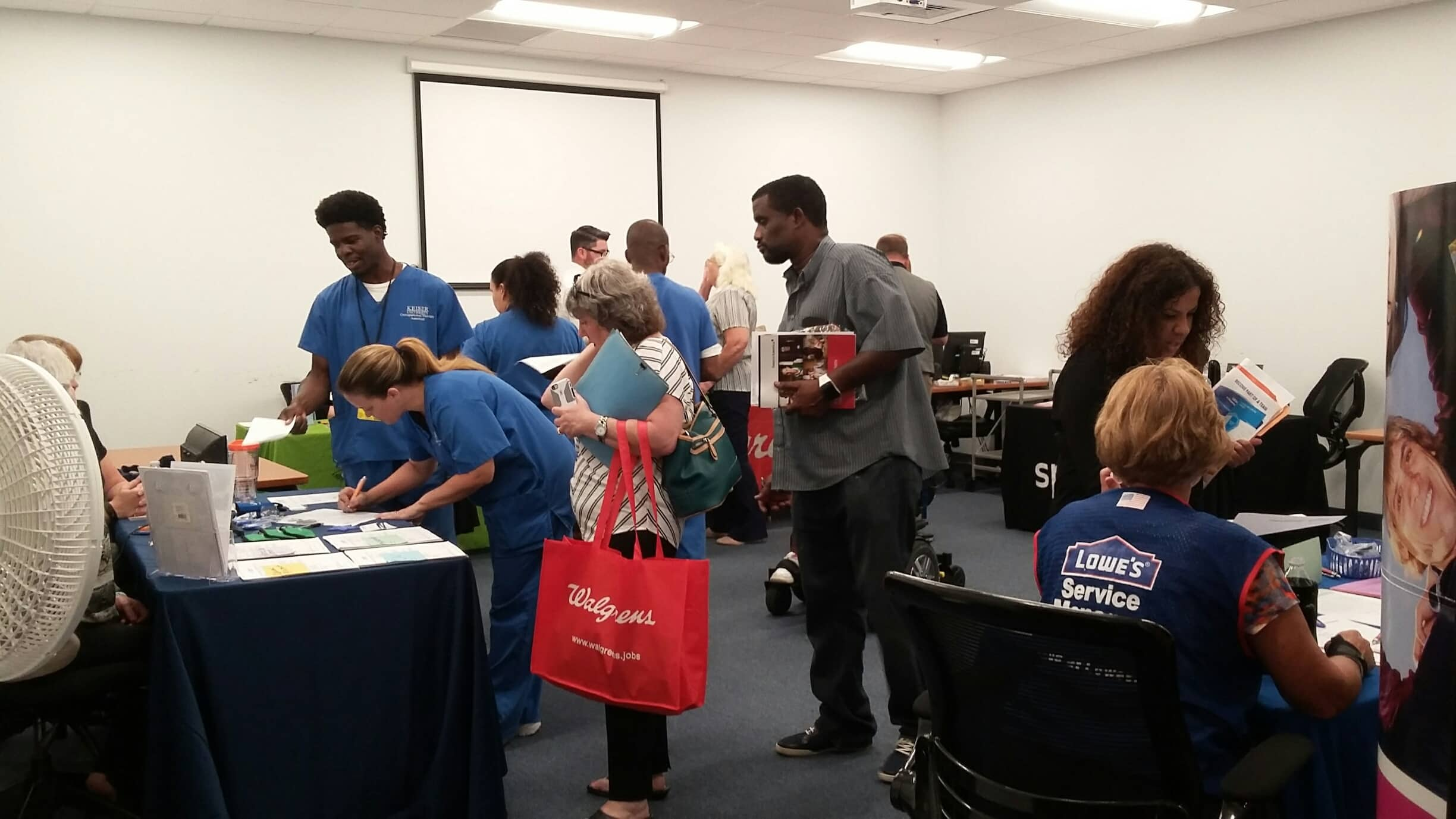 The Melbourne Campus Holds a Successful Job Fair