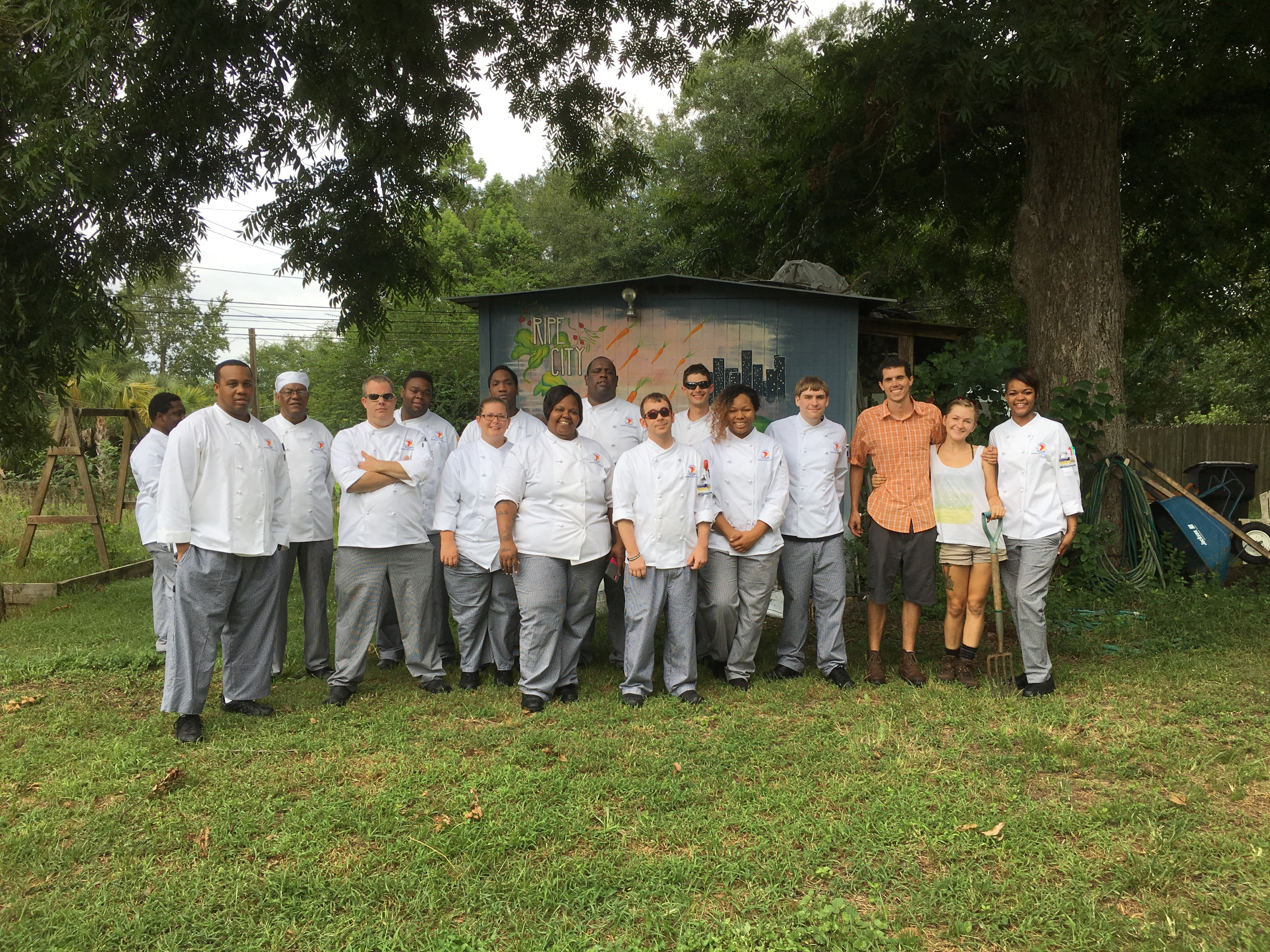 Tallahassee Center for Culinary Arts Visit Ripe City Urban Farm