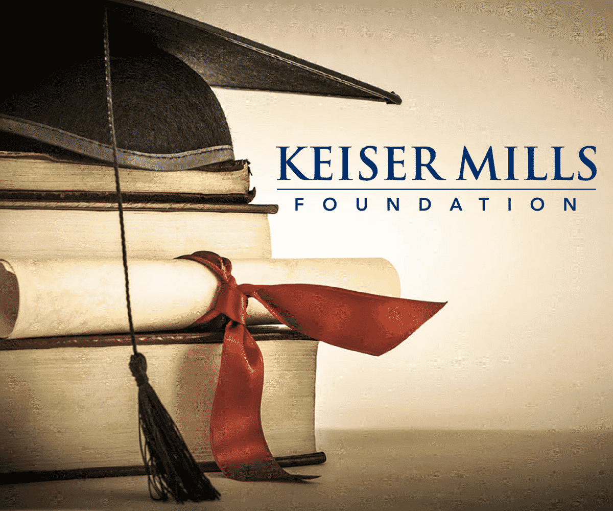 The Keiser Mills Foundation Announces New Fall Scholarship Opportunities