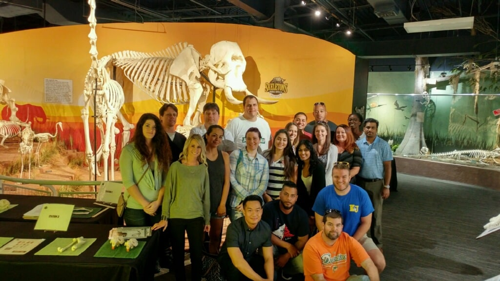 RT Students Visit the Skeletons Museum in Orlando