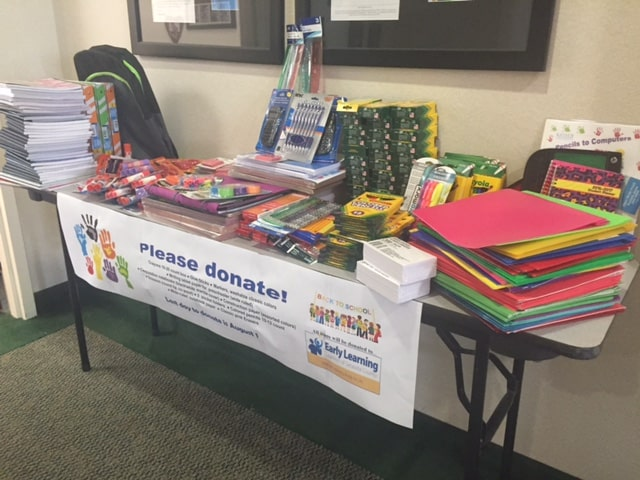 Back to School Supply Drive in Sarasota