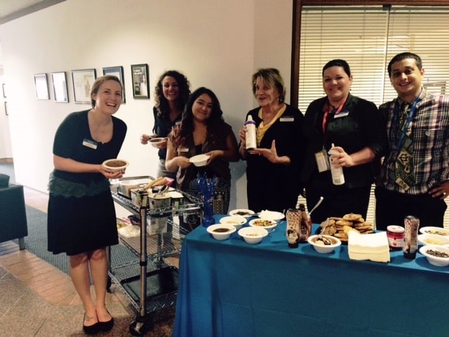 Clearwater's Student Services Department Held an Ice Cream Social in Appreciation of the Staff and Faculty