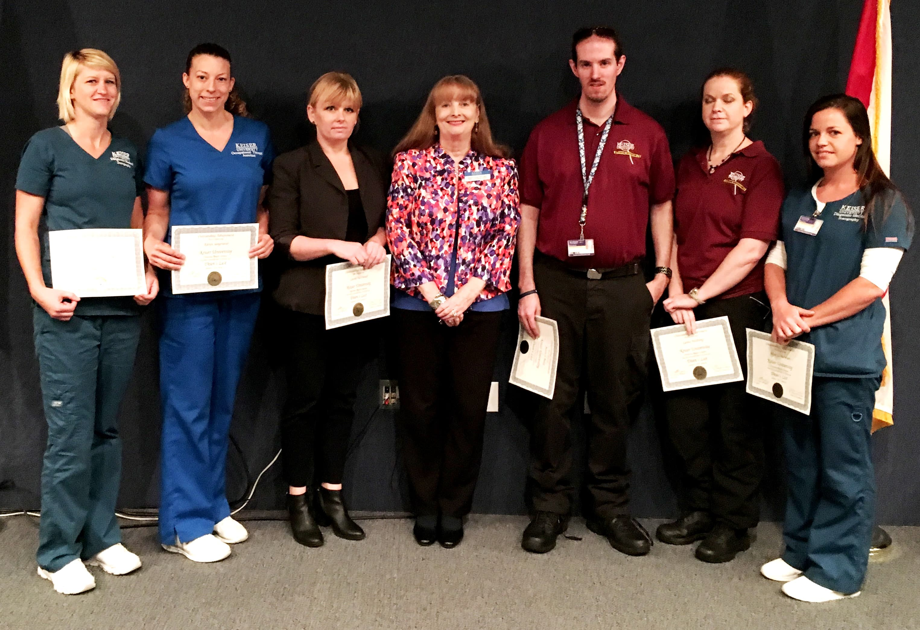 Academic Achievements Celebrated at the Daytona Beach Campus