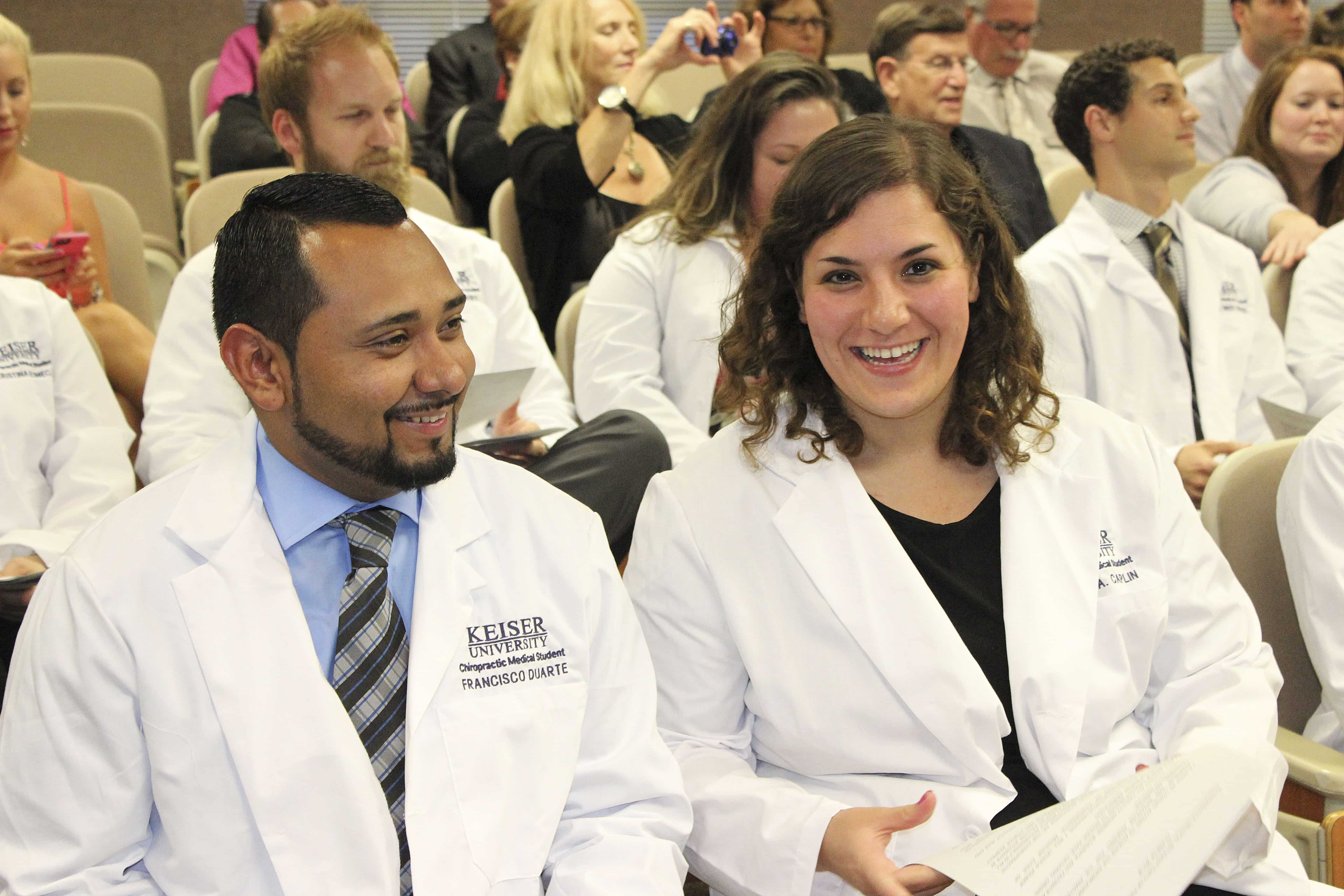 College of Chiropractic Medicine Holds a White Coat Ceremony