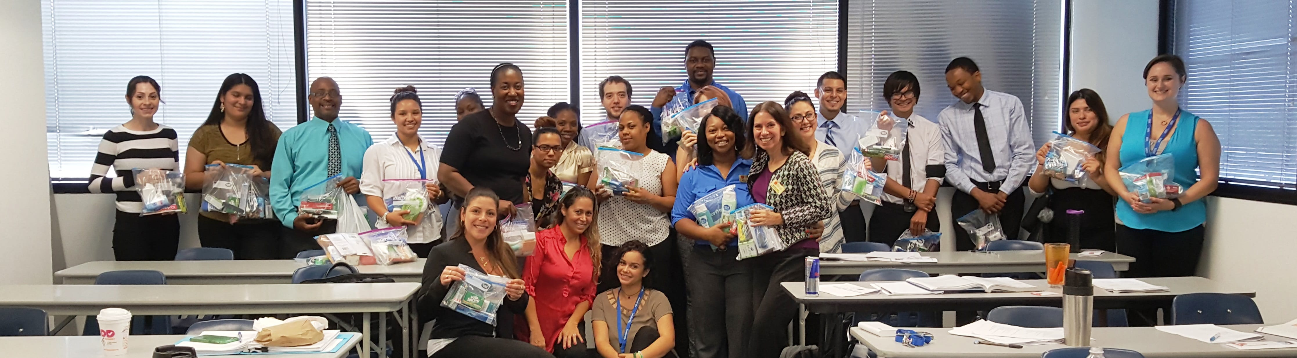 Ft. Lauderdale Psychology Department Assists the Salvation Army