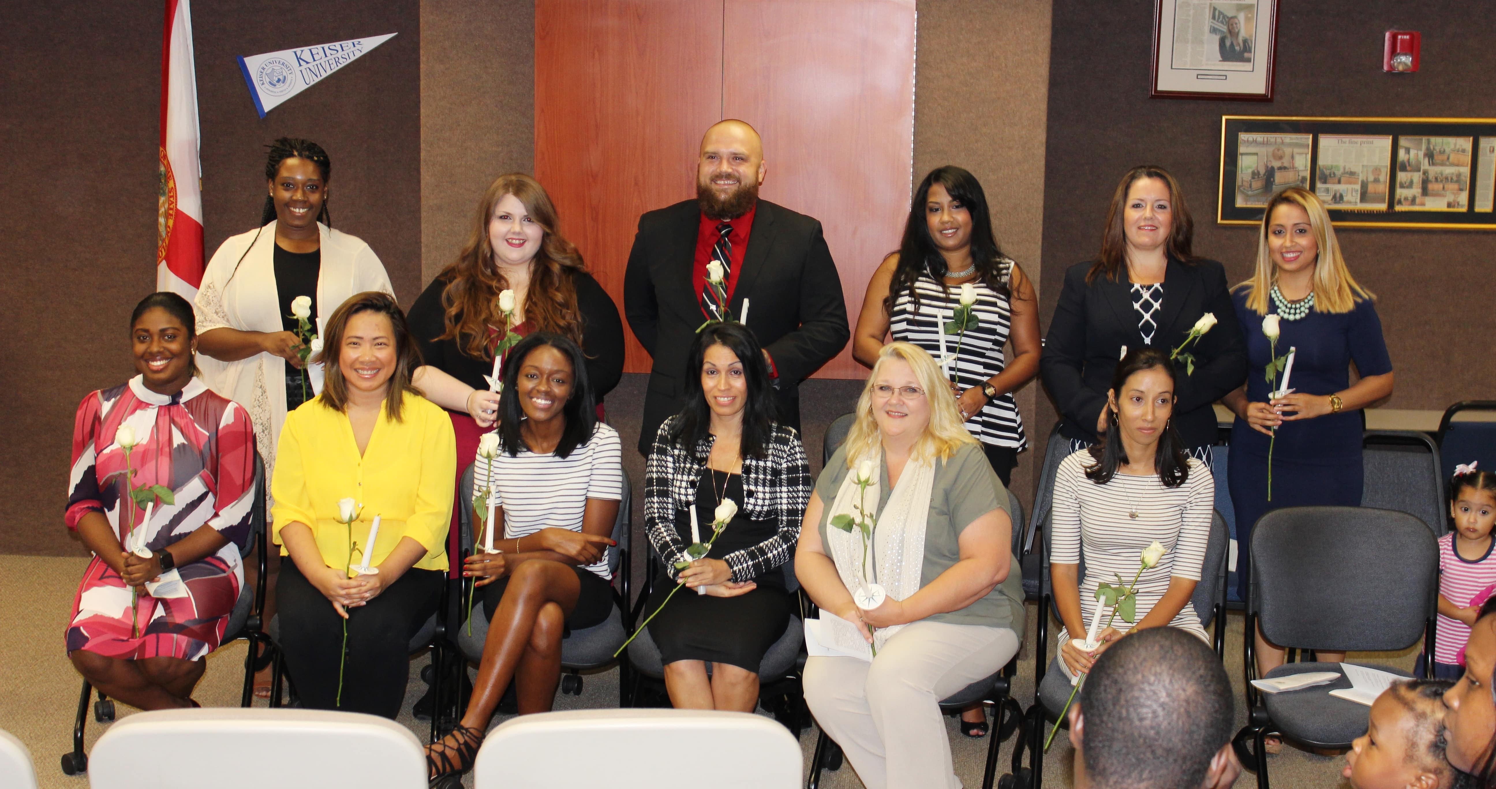 West Palm Beach Holds a PTK Induction Ceremony