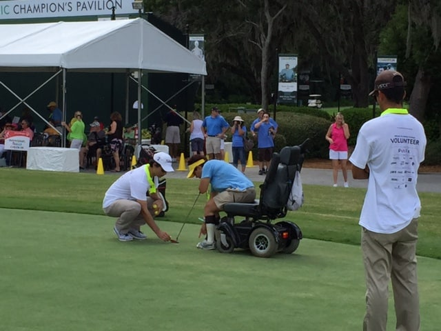 Keiser University College of Golf Students Volunteer for Special Olympics Tournament
