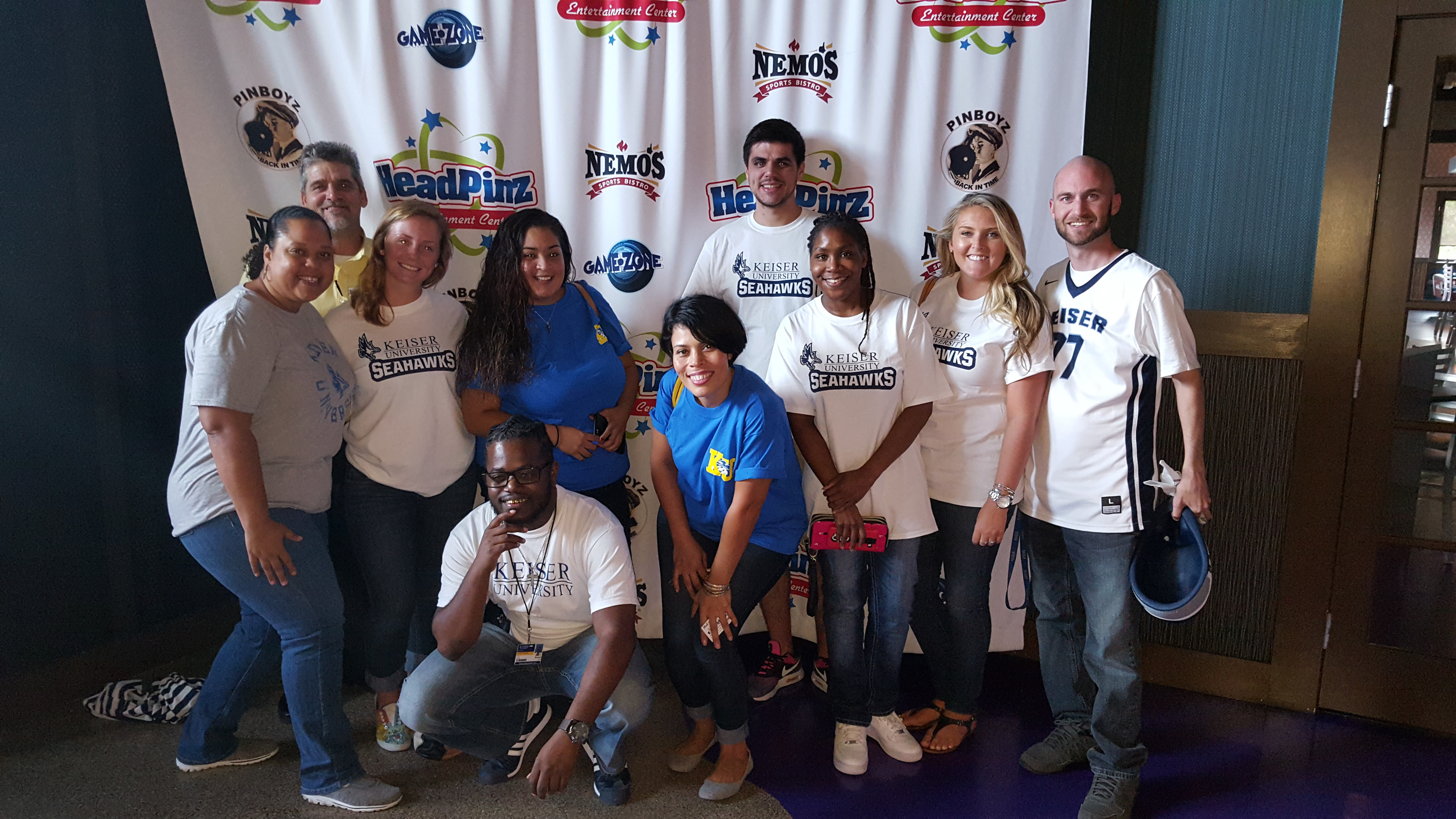 Fort Myers Hospitality Program Participates in Florida Restaurant and Lodging Association Bowling and Laser Tag Tournament