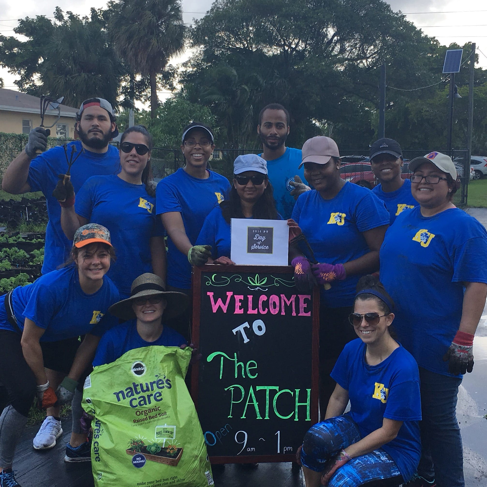 Ft. Lauderdale Students Participate in Global Physical Therapy Day of Service