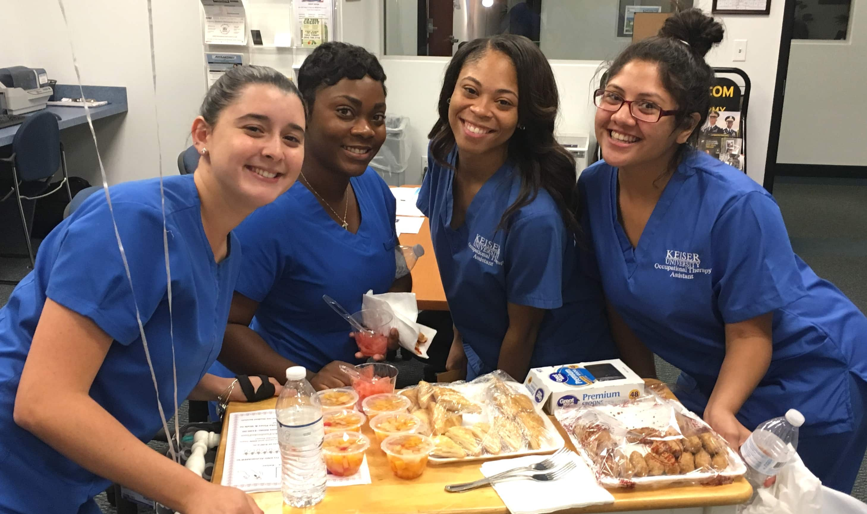 OTA Students at Pembroke Pines Raise Funds for the Cystic Fibrosis Foundation