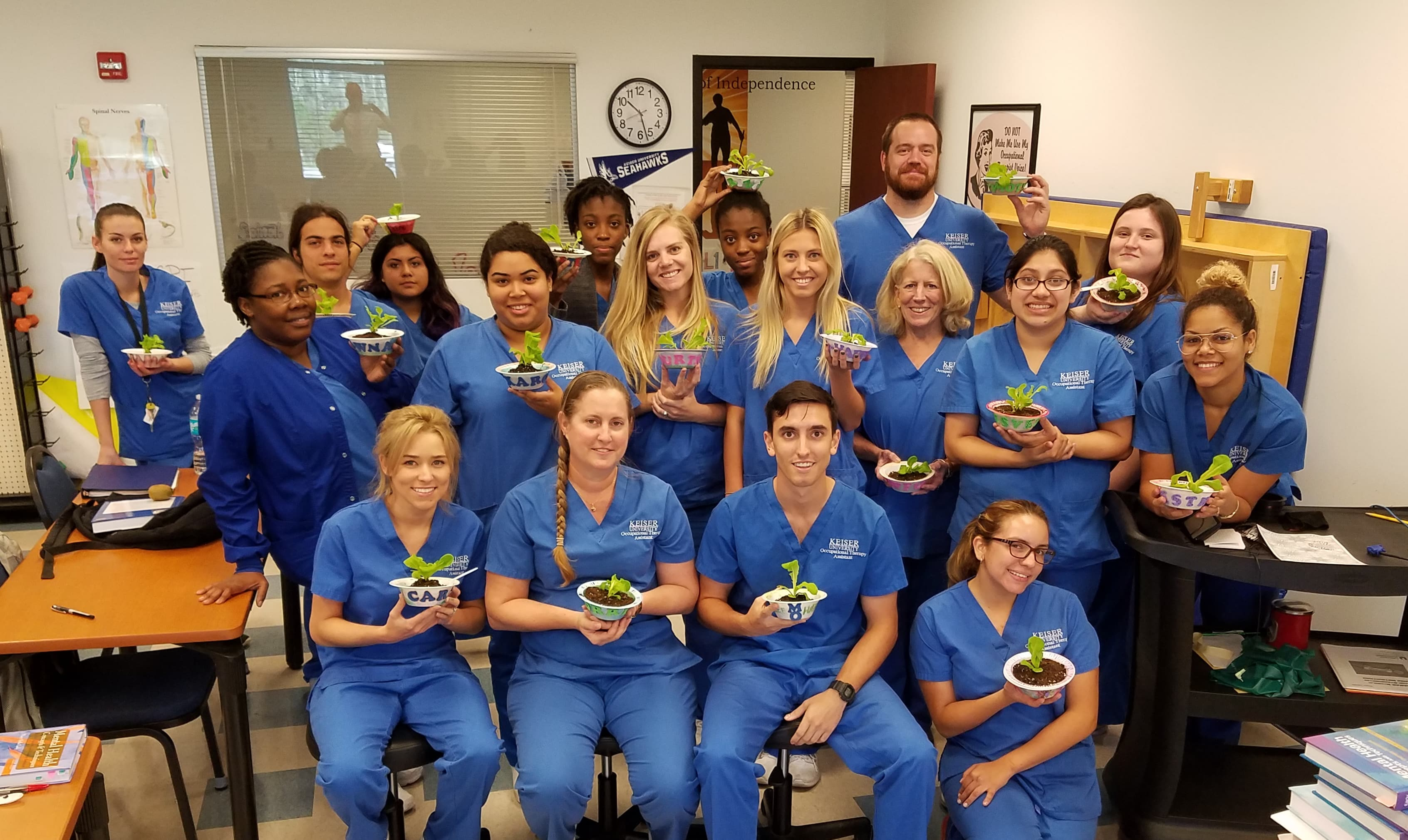 Fort Myers Occupational Therapy Assistant Class Plants Seeds For