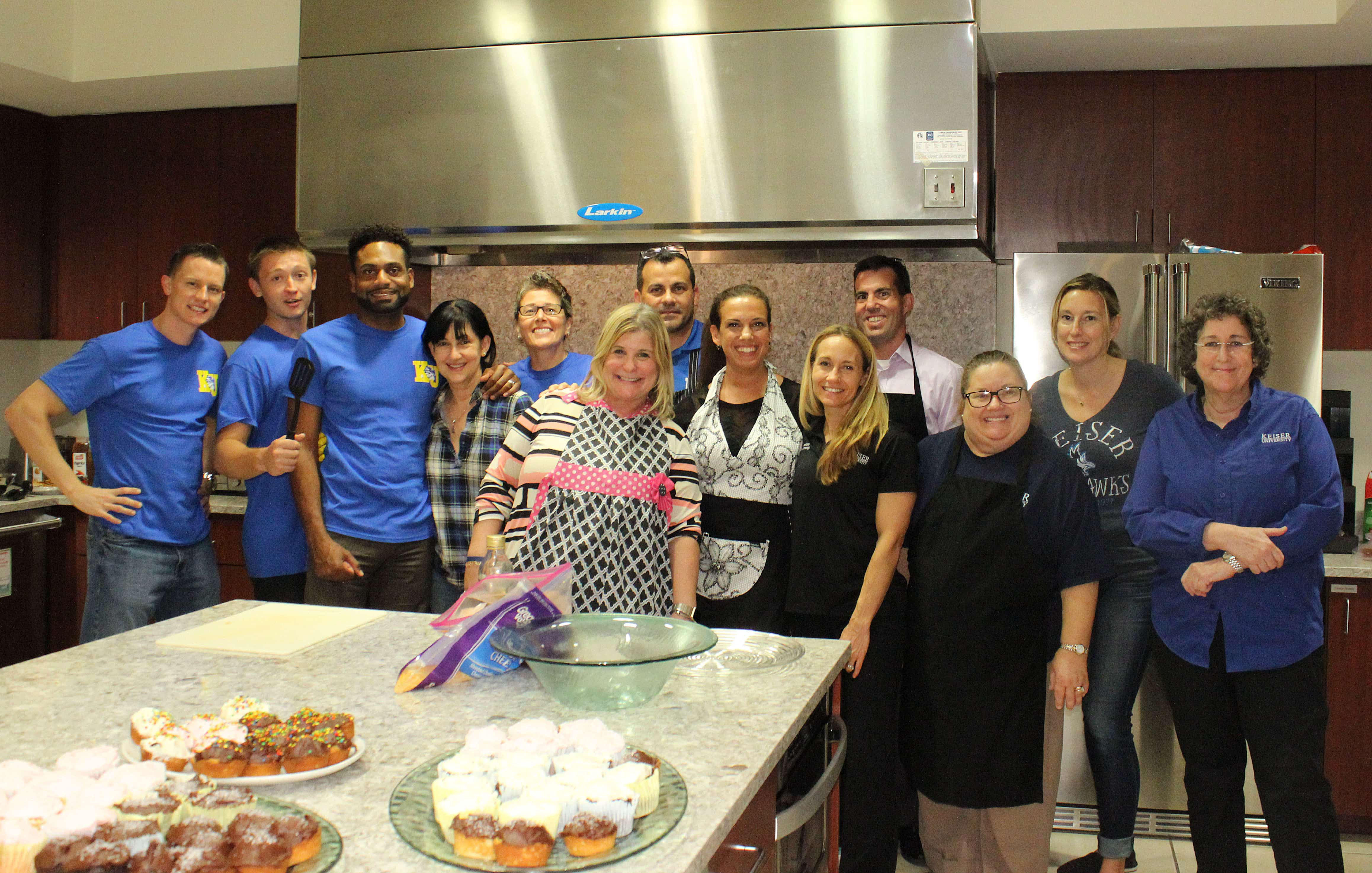 West Palm Beach Faculty and Staff Volunteer at Quantum House
