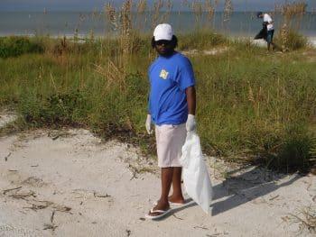 SGA beach cleanup Oct. 2016 (2)